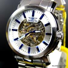 Invicta 45mm Vintage Automatic Exhibition Skeletonized Stainless Steel Watch New
