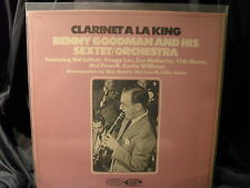 Benny Goodman and his Sextet/Orchestra-Clarinet a la King