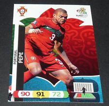 PEPE REAL MADRID PORTUGAL FOOTBALL CARD PANINI UEFA EURO 2012
