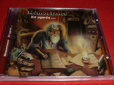 CD. MEMORIANCE.ET APRES.SUPER PROG FRENCH 76 .INFLUENCE. ANGE/ATOLL CARPE DIEM