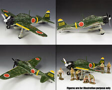 KING & COUNTRY WW2 JAPANESE NAVY JN016 LAND BASED ZERO FIGHTER MIB
