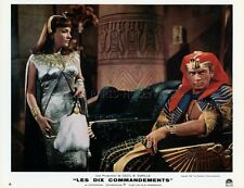 YUL BRYNNER  YVONNE DE CARLO THE TEN COMMANDMENTS 1956 VINTAGE LOBBY CARD #4