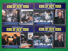 G59 LOTTO FOTOBUSTE  KING OF NEW YORK ABEL FERRARA WALKEN CARUSO ARGO
