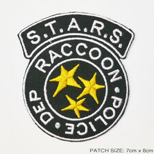 "RESIDENT EVIL S.T.A.R.S. Raccoon City Police Patch - LARGE ""FULL SIZED"" VERSION!"