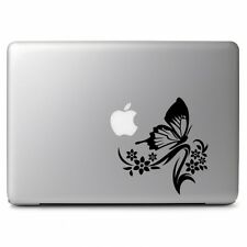 Butterfly Flower Ornament for Macbook Air Pro Laptop Car Art Vinyl Decal Sticker