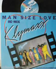"KLYMAXX ~ Man Size Love ~ 12"" Single PS"