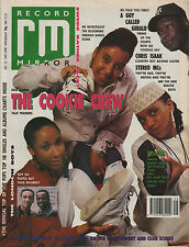 The Cookie Crew on Magazine Cover 22 July 1989    The London Boys   Stereo MCs