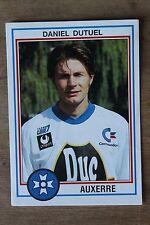 Vignette Sticker PANINI - Foot 93 - N°7 DANIEL DUTUEL AUXERRE 1993