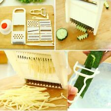 11pcs Fruit Vege Mandoline Cutter Slicer Grater Crusher Chopper Dicer New