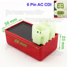 6 Pin AC CDI Ignition Box For Chinese GY6 50 125 150 cc Moped Scooter ATV Quad