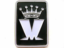 MADNESS - OFFICIAL WHITE M LOGO ENAMEL BADGE - MINT CONDITION - SUGGS TWO TONE