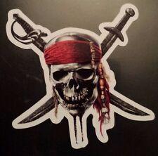 Piratas del Caribe Pegatina Portátil Guitarra Tablet 246