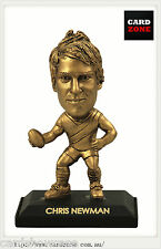 2009 Select AFL LIMITED EDITION GOLD FIGURINE NO.36 Chris Newman (Richmond)