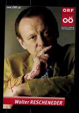 Walter Rescheneder ORF Foto Original Signiert ## BC 69411