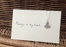 One Direction 1D Tattoo Charm Necklace Anchor Infinity Rope Larry Stylinson AIMH