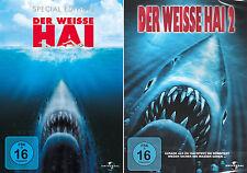 Der weisse Hai 1 + 2 (Roy Scheider) Jaws                               DVD   223