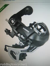 Shimano Tourney cycle / bike rear mech derailleur 5 6 & 7 speed bolt on RDTX35