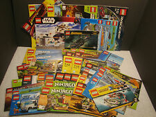 Lego Manuals Book Batman Star Wars Creator Race Ninjago Miners Indiana Jones Vtg