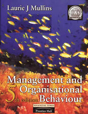 Management and Organisational Behaviour, Mullins, Laurie J. Paperback Book