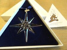 Swarovski : Christmas ornament  Star 1995.