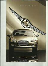 CHRYSLER LHS (USA MARKET) CAR BROCHURE 1999