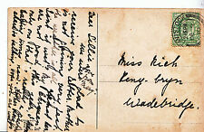 Genealogy Postcard - Family History - Rich - Peny? - Bryn - Wadebridge  A1378