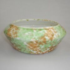 FOWLER Thomastown Pottery 1930s  LARGE BOWL SUPER COLOURS