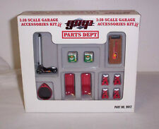 GMP ACME  1/18 Garage Accessories Kit 2 Equipment Tool Set Diorama Biante # 9012