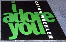 1992 CARON WHEELER I ADORE YOU, LP DANCE MIXES, VGC, PERSPECTIVE/A&M RECORDS