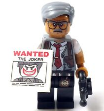 Custom Minifigure Batman Movie, COMMISSIONER GORDON & free LEGO brick.UK