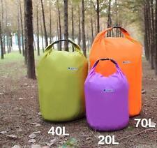 70L Water Resistant Waterproof Dry Bag Canoe Floating Boating Kayaking Camping