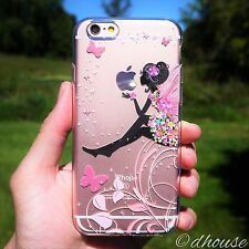 MADE IN JAPAN Soft Clear Case Cute Fairy for iPhone 6 Plus & iPhone 6s Plus 5.5""
