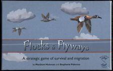 Shark & Shark Games FLOCKS & FLYWAYS strategic GAME survival & migration *SEALED