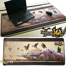 "35.4x23.6"" Monster Hunter Large Durable Mouse Pad Non-Slippery Rubber Gaming Mat"