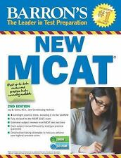NEW - Barron's New MCAT with CD-ROM, 2nd Edition (Barron's Mcat)