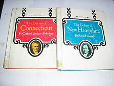 TWO BOOKS (1975)  COLONY OF CONNECTICUT & COLONY OF NEW HAMPSHIRE