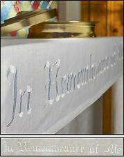 "In Remembrance of Me Altar Frontal 52"" x 96"" NEW SKU RS509"