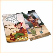 V.Syndicate Alice Grinderland Mad Hatter Grinder Card Flat Pocket Wallet Size