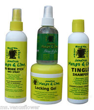 Jamaican Mango & Lime Hair Care Products (Dread Head,Rasta,Locs,Twists)