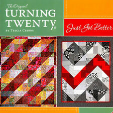 TURNING TWENTY JUST GOT BETTER 20 Fat Quarters Fast Quilt Projects NEW BOOK