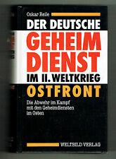 El alemán servicio secreto en el 2.wk - frente Oriental (general Gehlen)