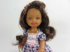 Barbie's Lil Sis Kelly Princess With Great Hair in Lavender Shoes! (AA)
