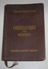 Meyers Reisebücher - Oberbayern und München 1925