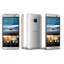HTC ONE M9 32GB 20.0MP 4G LTE Android Unlocked Smart Phone SILVER/Gold