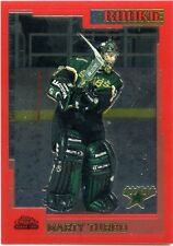 2000-01 Topps Chrome Marty Turco Rookie Card 0741/1250 Stars Michigan Wolverines