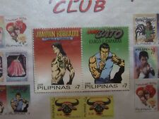 PHILIPPINES/FILIPINAS STAMPS ON CARD KOMIKS COMICS