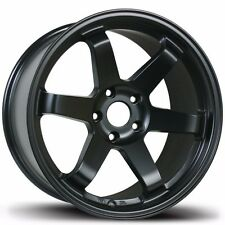 Avid1 AV06 18x8.5 +35 18x9.5 +38 5x114.3 Black Concave Staggered IS250 IS300 RX8