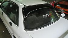 GALANT VR-4 MITSUBISHI 89-92 E39A Rear Window Guard with Stainless Clip Lock