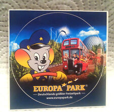1 Autocollant: parc d'attractions Europa-park rust. de 2008. London Bus.
