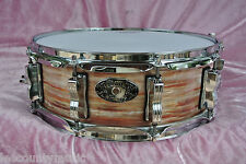 1909-2009 LUDWIG USA 100th ANN. '64 JAZZ FESTIVAL PINK OYSTER SNARE DRUM! #V64